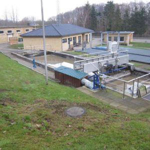 Umbau Vorklärbecken in der Kläranlage Lütjenburg