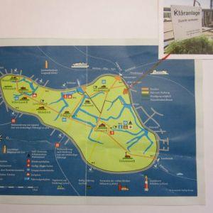 Karte Hallig Hooge