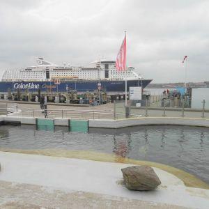 Geomar Seehundebecken an der Kiel-Linie