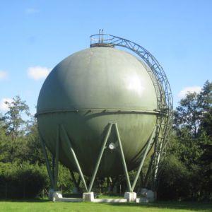 Korrosionsschutz Gaskugel Stadtwerke Schleswig