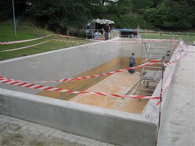 Regenrücklaufbecken