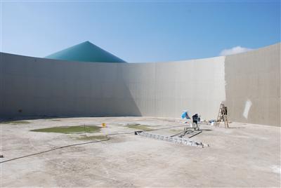 Biogasanlagenbehälter